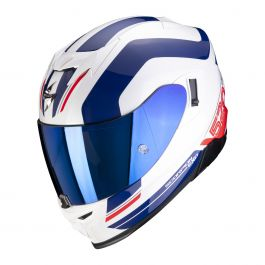 Scorpion EXO-520 Air LeMans - Wit / Blauw / Rood