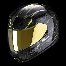 Scorpion EXO 390 Beat - Zwart / Neon Geel
