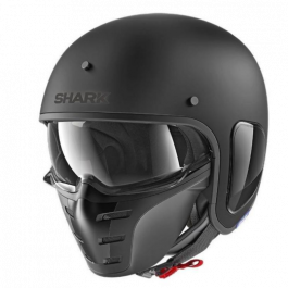 Shark S-Drak Blank - Mat Zwart
