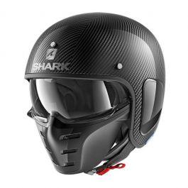 Shark S-Drak Carbon Skin - Zwart / Zilver