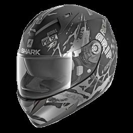 Shark Ridill 1.2 Drift-R - Mat Zwart / Antraciet / Zilver