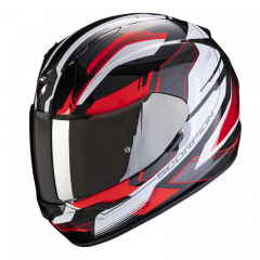 Scorpion EXO 390 Boost - Zwart / Wit / Rood
