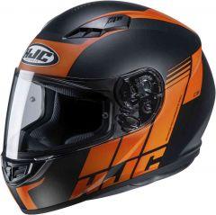 HJC CS-15 Mylo Integraalhelm - Mat Zwart / Oranje