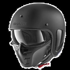Shark Jethelm S-Drak Blank - Mat Zwart