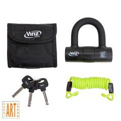 Vinz Dinara Disc Brake Lock Black - Overview