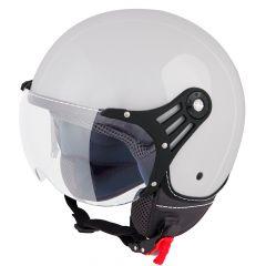 Vinz Stelvio Jet helm - Grijs