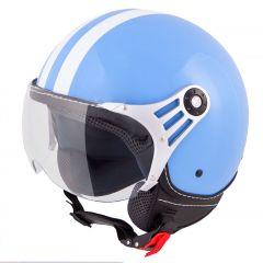 Vinz Fiori - Blauw / Wit