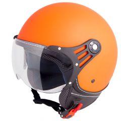 Vinz Stelvio Fashionhelm Oranje Mat
