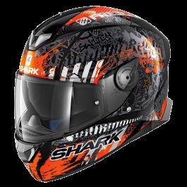 Shark Skwal 2 Switch Rider 2 - Zwart / Wit / Oranje