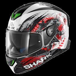 Shark Skwal 2 Switch Rider 1 - Zwart / Wit / Rood