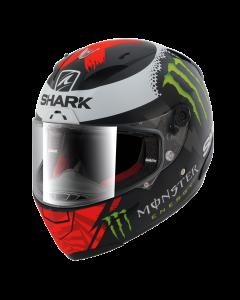 Shark RACE-R Integraalhelm - Lorenzo Monster / Mat Zwart / Rood / Wit_3