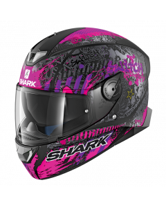 Shark Skwal 2 Integraalhelm - Switch Rider 2 / Zwart / Violet