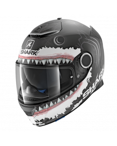Shark Spartan Lorenzo - Mat Zwart