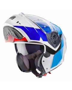 Caberg Systeemhelm Duke Impact - Wit / Blauw / Rood