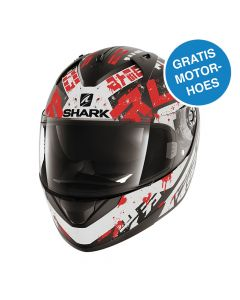 Shark Ridill Finks - Wit / Rood / Zwart