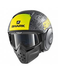 Shark Drak Jethelm - Tribute RM / Antraciet / Geel / Zwart_3