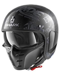 Shark S-Drak Freestyle Cup Carbon Zilver