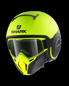 Shark Street Drak Neon Serie Mat - Fluor Geel / Zwart