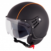 Vinz Laghi - Zwart / Oranje (Leer)