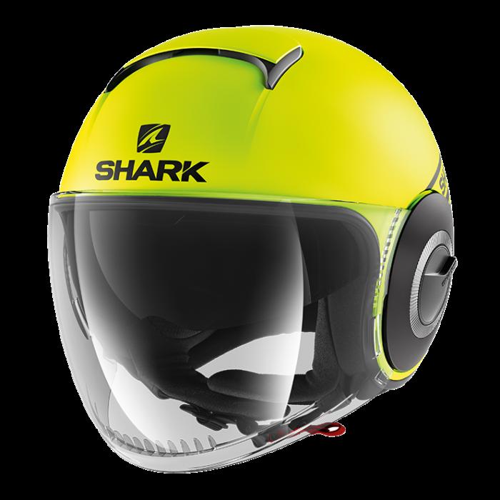 288e8ea6cbc Shark Nano Street Neon Mat - Geel / Zwart