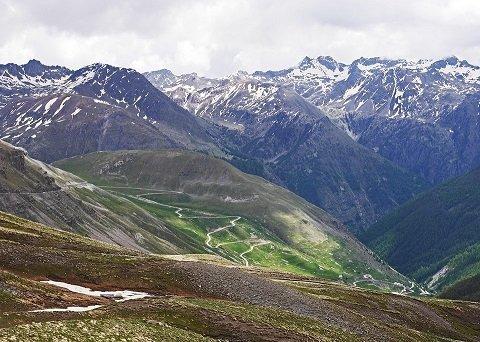 Motorroute Col de La Bonette