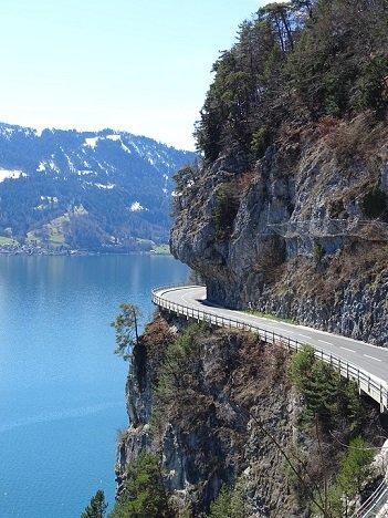 Motorroute Ligurische Kammstrasse Italië Frankrijk