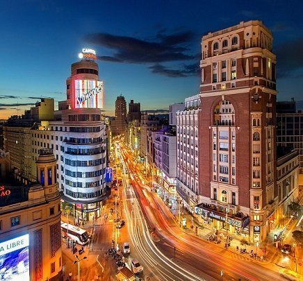 Motorroute Madrid