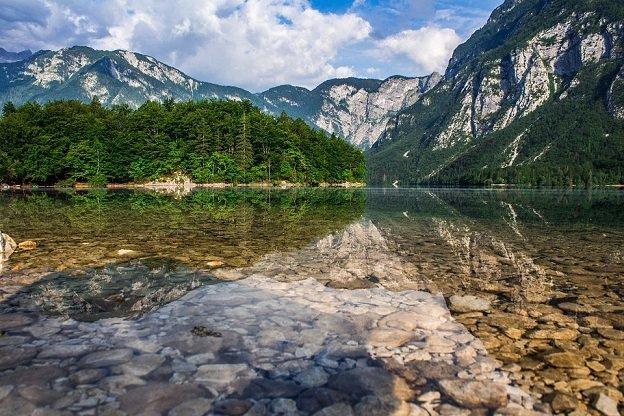 Motorroute Mangart Slovenië