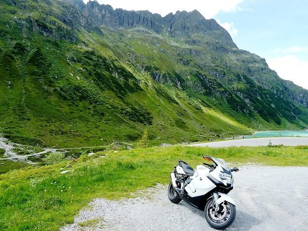 Motorroute Silvretta Oostenrijk