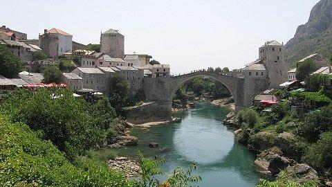 motorvakantie in Bosnië